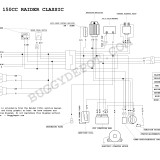 Dazon Raider Classic – Wiring Diagram