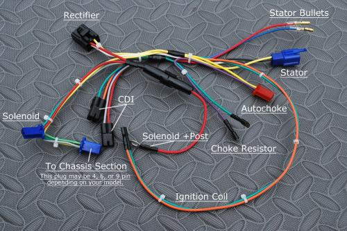 wiring harness engine for tomberlin crossfire. Black Bedroom Furniture Sets. Home Design Ideas