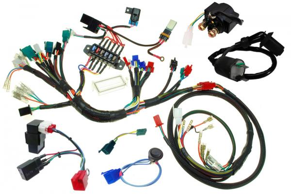BDX PlugnPlay Harness For Honda Ruckus GY6 Swaps – Ruckus Wiring Diagram For Battery