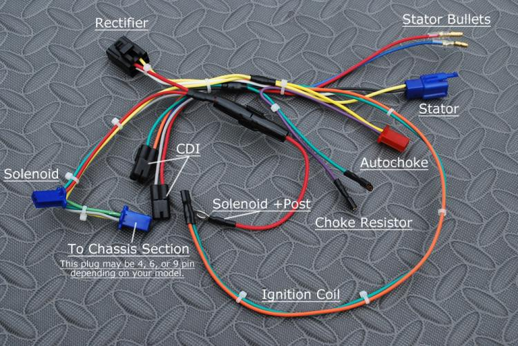 wiring harness engine for tomberlin crossfire rh buggydepot com Tomberlin Crossfire 150 Service Manual Crossfire 150 Go Kart