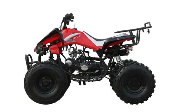 125cc kinroad raptor 3spd mid size atv. Black Bedroom Furniture Sets. Home Design Ideas