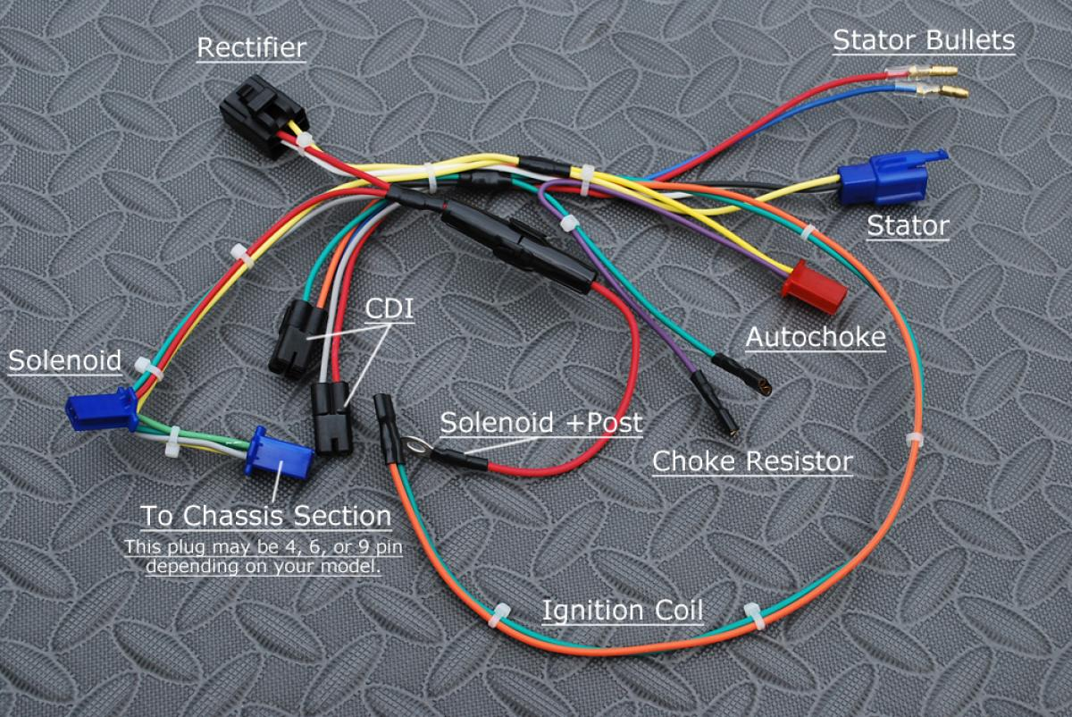 Engine Wiring Harness For Buggies