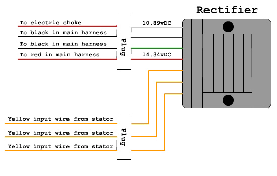 pole 3 wire rectifier schematic with labels bdx harness for ruckus - indication system datasheet ... 3 wire delco alternator with regulator wiring diagram