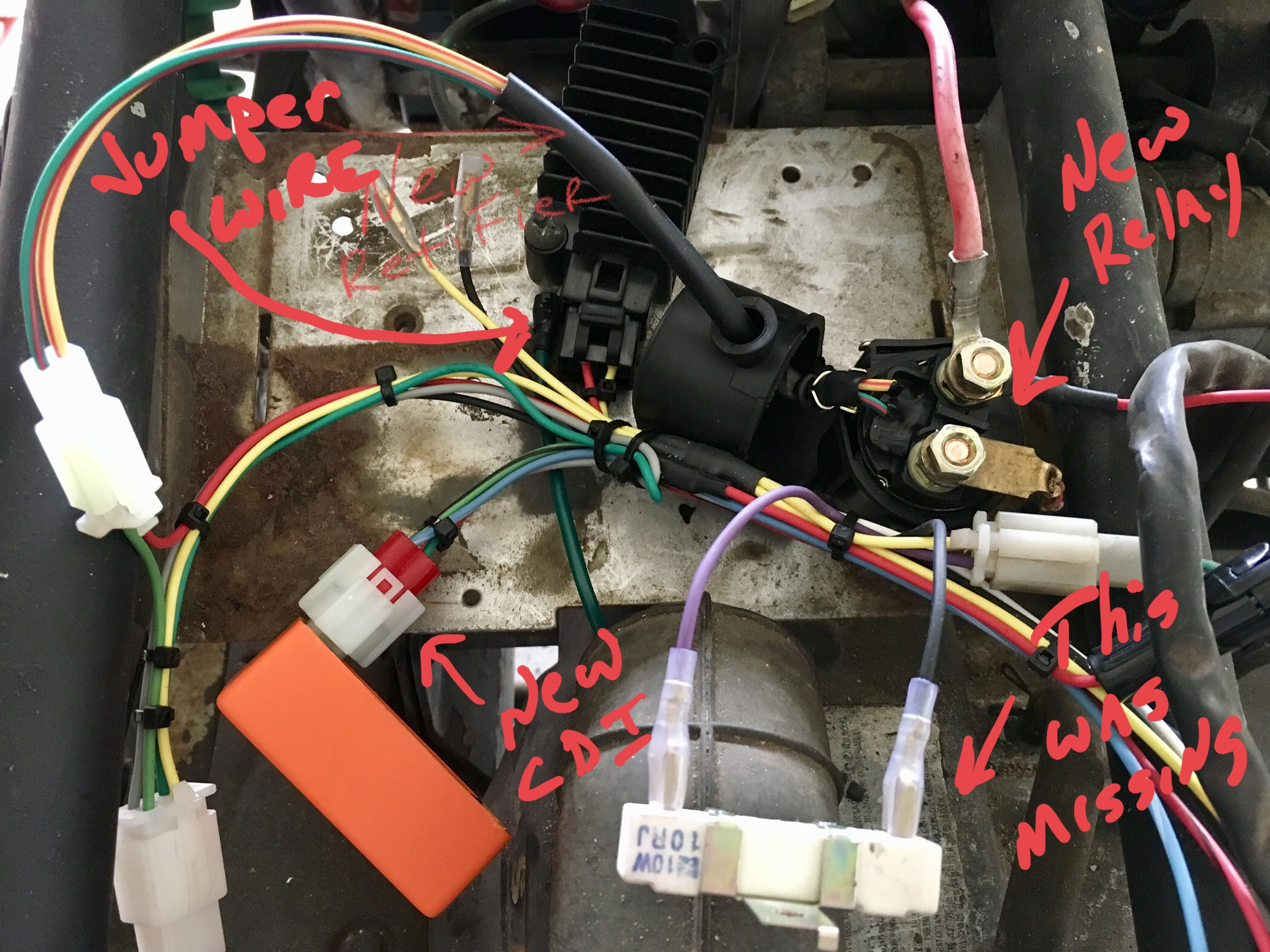 Wiring for Helix 150cc - Buggy Depot | GY6 Advice Forum on