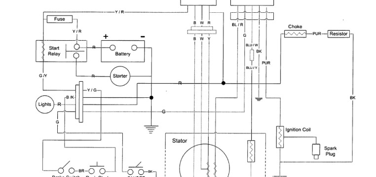 Yerf Dog GX150 Wiring Diagram