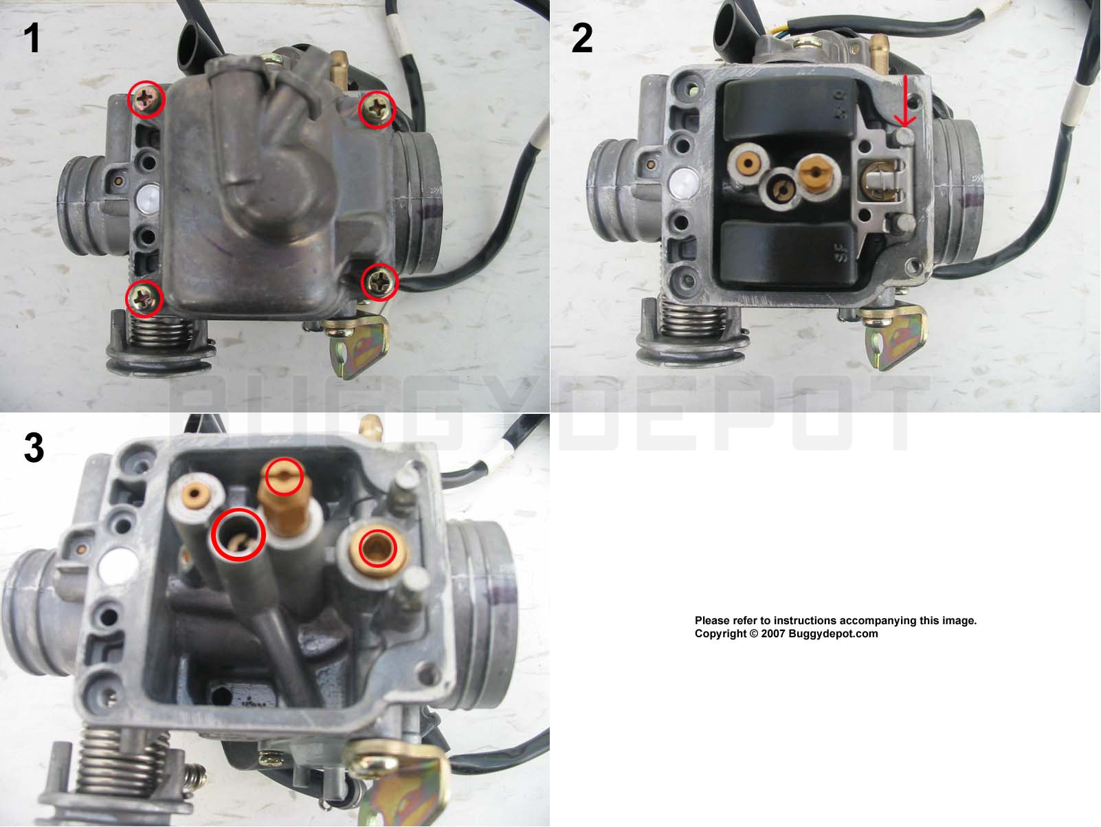 article_10_1278710587 150cc gy6 carburetor cleaning guide buggy depot technical center 150cc gy6 carburetor diagram at eliteediting.co