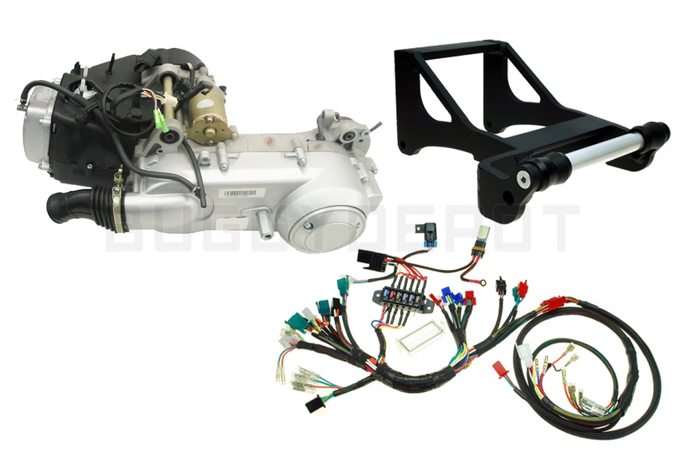 gy6 swapping the honda ruckus what to expect from your swap buggy rh buggydepot com Honda Ruckus CDI Honda Ruckus CDI