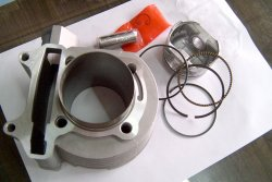 155cc Big Bore Kit - 58.5mm Piston/Cylinder GY6