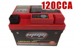 120CCA High Performance 12v LITHIUM Battery for Buggies