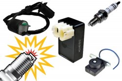 GY6 150cc AC Ignition No Spark Tune-up Kit  (No rev limit and intense spark)