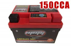 150CCA High Performance 12v LITHIUM Battery for Buggies