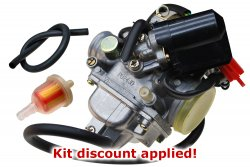 "150cc ""Not Getting Gas"" Carburetion Tune-up Kit"