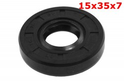 SEAL, FRONT WHEEL BEARING SEAL, SMALL, 15x35x7