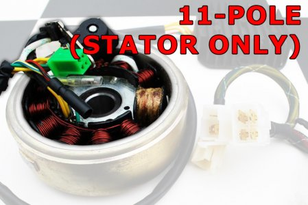 11-pole Stator Unit (No Flywheel)