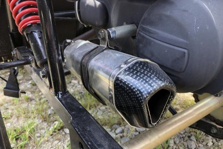 BDX Performance S1 Exhaust Kit (for GY6 150cc buggies)